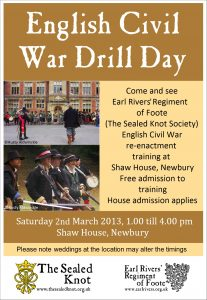 Poster for event 2 March 2013