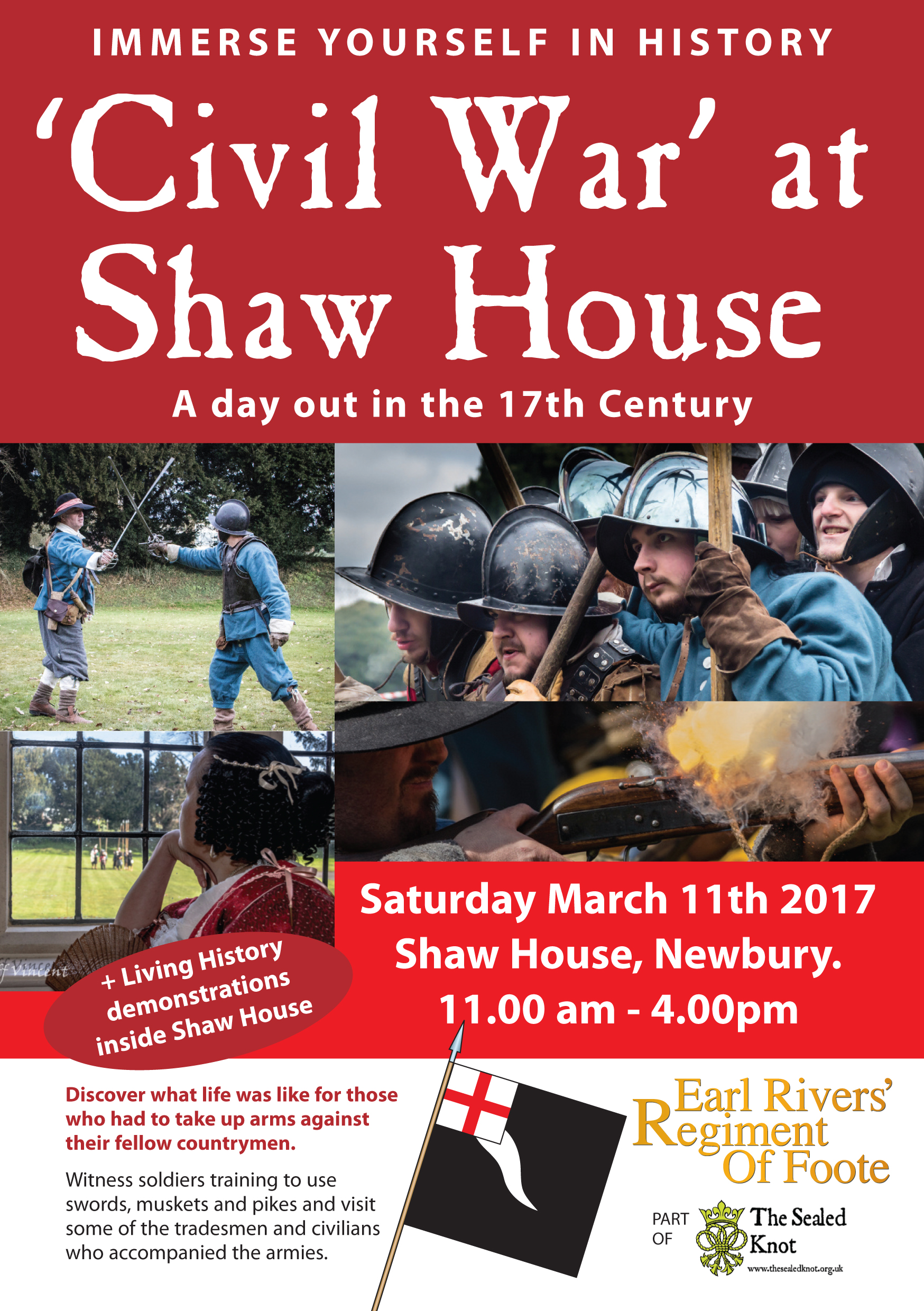 Civil War at Shaw House 2017